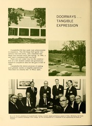 Page 8, 1968 Edition, Campbellsville University - Maple Trail Yearbook (Campbellsville, KY) online yearbook collection