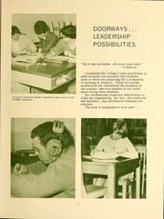 Page 9, 1968 Edition, Campbellsville University - Maple Trail Yearbook (Campbellsville, KY) online yearbook collection
