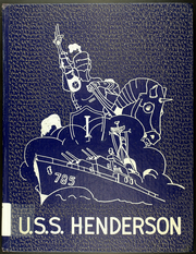 1953 Edition, Henderson (DD 785) - Naval Cruise Book