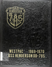 1970 Edition, Henderson (DD 785) - Naval Cruise Book