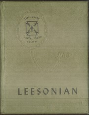 1965 Edition, Lees College - Leesonian Yearbook (Jackson, KY)