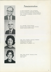 Page 11, 1965 Edition, Lees College - Leesonian Yearbook (Jackson, KY) online yearbook collection