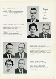 Page 13, 1965 Edition, Lees College - Leesonian Yearbook (Jackson, KY) online yearbook collection