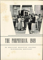 Page 7, 1949 Edition, Kentucky Wesleyan College - Porphyrian Yearbook (Owensboro, KY) online yearbook collection