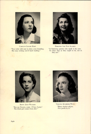 Page 14, 1942 Edition, Kentucky Home School for Girls - Pandaisia Yearbook (Louisville, KY) online yearbook collection