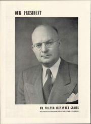 Page 16, 1948 Edition, Centre College - Old Centre Yearbook (Danville, KY) online yearbook collection