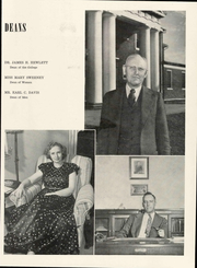 Page 17, 1948 Edition, Centre College - Old Centre Yearbook (Danville, KY) online yearbook collection
