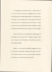 Page 9, 1948 Edition, Centre College - Old Centre Yearbook (Danville, KY) online yearbook collection