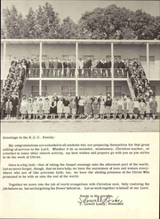 Page 17, 1968 Edition, Kentucky Christian University - Marturian Yearbook (Grayson, KY) online yearbook collection