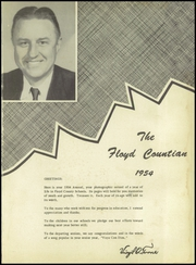 Page 5, 1954 Edition, Floyd County High Schools - Floyd Countian Yearbook (Floyd County, KY) online yearbook collection