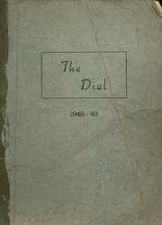 Page 1, 1949 Edition, Beech Grove High School - Dial Yearbook (Beech Grove, KY) online yearbook collection