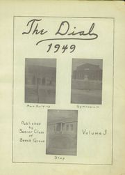 Page 5, 1949 Edition, Beech Grove High School - Dial Yearbook (Beech Grove, KY) online yearbook collection