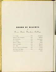 Page 10, 1949 Edition, Sam Houston State Teachers College - Alcalde Yearbook (Huntsville, TX) online yearbook collection