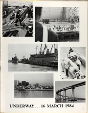 Page 11, 1984 Edition, Henry Wilson (DDG 7) - Naval Cruise Book online yearbook collection