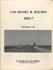 Page 6, 1984 Edition, Henry Wilson (DDG 7) - Naval Cruise Book online yearbook collection