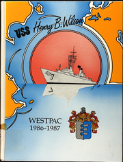 1987 Edition, Henry Wilson (DDG 7) - Naval Cruise Book