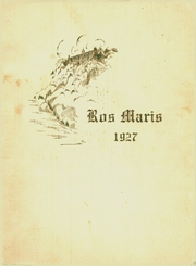 Page 1, 1927 Edition, Villa Madonna Academy - Ros Maris Yearbook (Villa Hills, KY) online yearbook collection