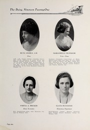 Page 11, 1921 Edition, Kentucky College for Women - Daisy Yearbook (Danville, KY) online yearbook collection