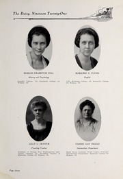 Page 13, 1921 Edition, Kentucky College for Women - Daisy Yearbook (Danville, KY) online yearbook collection