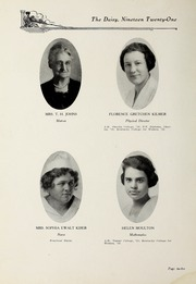 Page 14, 1921 Edition, Kentucky College for Women - Daisy Yearbook (Danville, KY) online yearbook collection