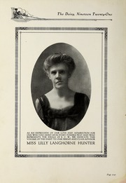 Page 6, 1921 Edition, Kentucky College for Women - Daisy Yearbook (Danville, KY) online yearbook collection
