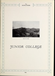 Page 11, 1927 Edition, Pikeville College - Highlander Yearbook (Pikeville, KY) online yearbook collection