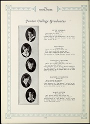 Page 12, 1927 Edition, Pikeville College - Highlander Yearbook (Pikeville, KY) online yearbook collection