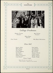 Page 16, 1927 Edition, Pikeville College - Highlander Yearbook (Pikeville, KY) online yearbook collection