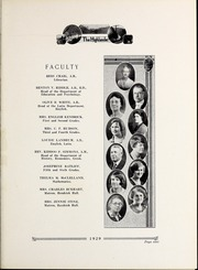 Page 13, 1929 Edition, Pikeville College - Highlander Yearbook (Pikeville, KY) online yearbook collection