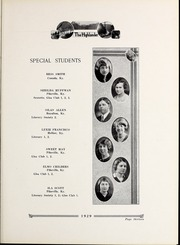 Page 17, 1929 Edition, Pikeville College - Highlander Yearbook (Pikeville, KY) online yearbook collection