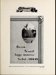 Page 7, 1929 Edition, Pikeville College - Highlander Yearbook (Pikeville, KY) online yearbook collection