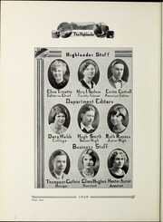 Page 8, 1929 Edition, Pikeville College - Highlander Yearbook (Pikeville, KY) online yearbook collection