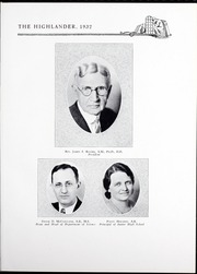Page 11, 1932 Edition, Pikeville College - Highlander Yearbook (Pikeville, KY) online yearbook collection