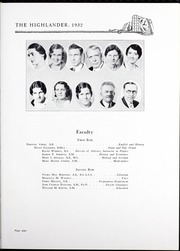 Page 13, 1932 Edition, Pikeville College - Highlander Yearbook (Pikeville, KY) online yearbook collection