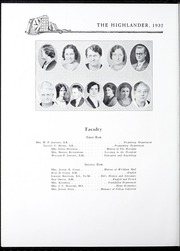 Page 14, 1932 Edition, Pikeville College - Highlander Yearbook (Pikeville, KY) online yearbook collection
