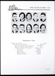 Page 16, 1932 Edition, Pikeville College - Highlander Yearbook (Pikeville, KY) online yearbook collection