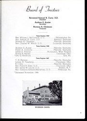 Page 13, 1945 Edition, Pikeville College - Highlander Yearbook (Pikeville, KY) online yearbook collection