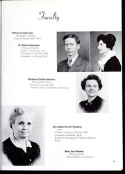 Page 17, 1945 Edition, Pikeville College - Highlander Yearbook (Pikeville, KY) online yearbook collection