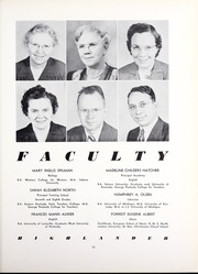 Page 17, 1949 Edition, Pikeville College - Highlander Yearbook (Pikeville, KY) online yearbook collection