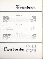 Page 9, 1949 Edition, Pikeville College - Highlander Yearbook (Pikeville, KY) online yearbook collection