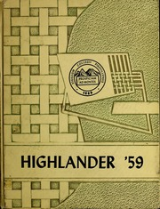 Page 1, 1959 Edition, Pikeville College - Highlander Yearbook (Pikeville, KY) online yearbook collection