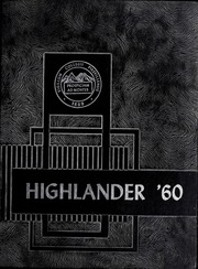 Page 1, 1960 Edition, Pikeville College - Highlander Yearbook (Pikeville, KY) online yearbook collection
