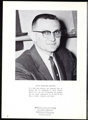 Page 6, 1961 Edition, Pikeville College - Highlander Yearbook (Pikeville, KY) online yearbook collection