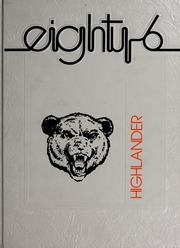 1986 Edition, Pikeville College - Highlander Yearbook (Pikeville, KY)