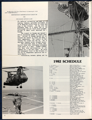 Page 10, 1982 Edition, Hermitage (LSD 34) - Naval Cruise Book online yearbook collection