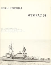 Page 5, 1969 Edition, Herbert Thomas (DD 833) - Naval Cruise Book online yearbook collection
