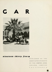 Page 7, 1935 Edition, Compton College - Dar U Gar Yearbook (Compton, CA) online yearbook collection