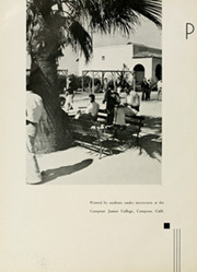 Page 8, 1935 Edition, Compton College - Dar U Gar Yearbook (Compton, CA) online yearbook collection