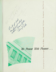 Page 5, 1950 Edition, Compton College - Dar U Gar Yearbook (Compton, CA) online yearbook collection
