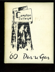 1960 Edition, Compton College - Dar U Gar Yearbook (Compton, CA)